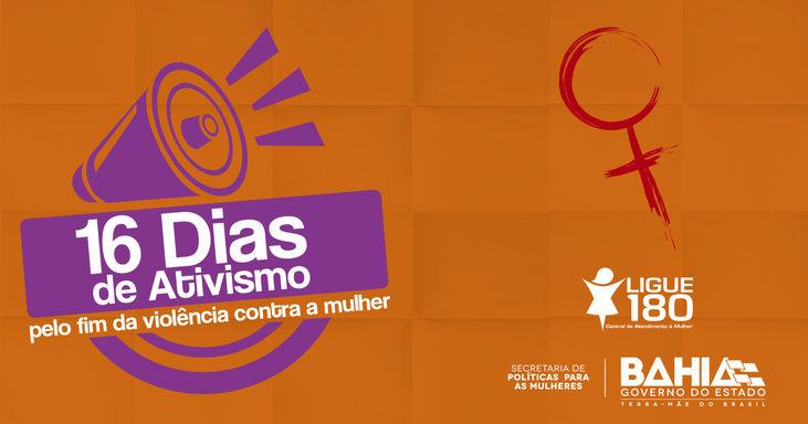 16 Dias de Ativismo pelo Fim da Violência contra a Mulher