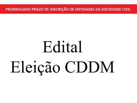 Prorrogado prazo de inscri��o de entidades da Sociedade Civil integrantes do Conselho Estadual de Defesa dos Direitos da Mulher