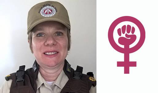 Mulher comanda pela primeira vez Companhia Independente de Pol�cia Militar