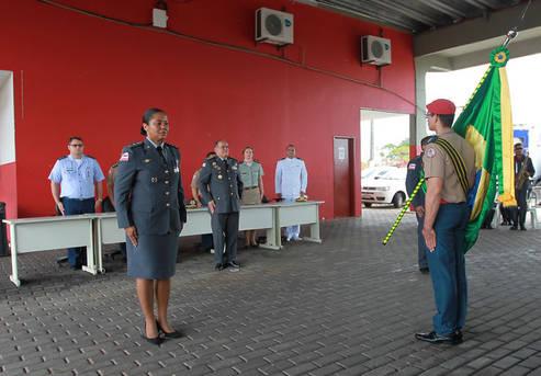 Major � a primeira mulher a comandar grupamento dos bombeiros