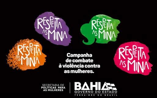 Disponibilização da logomarca da campanha Respeita as Mina