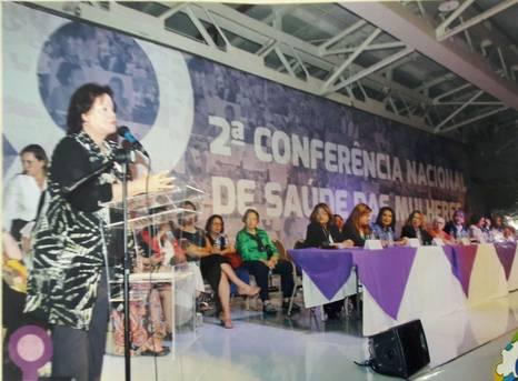 Respeita as Mina é apresentada na Conferência Nacional de Saúde das Mulheres