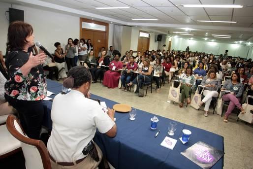 Oficina de Gestoras da SPM-BA promove debate sobre gênero com representantes de 64 cidades